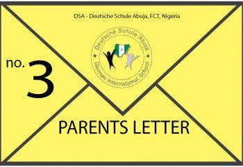 News Parents Letter 3