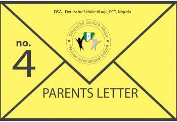 News Parents Letter 4